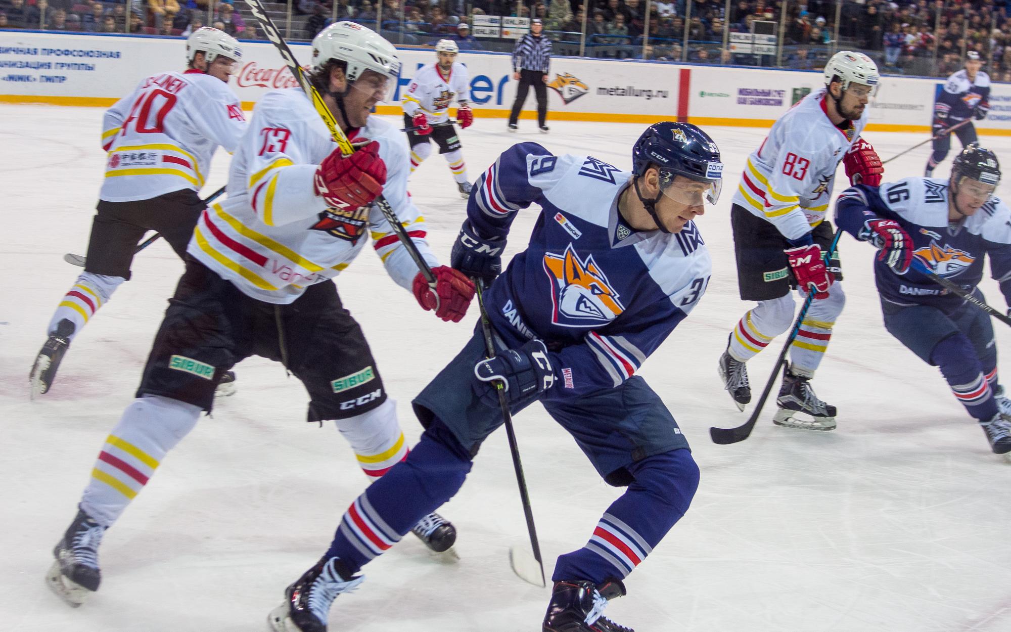 СКА победил «Витязь» впервом матче 1/8 финала плей-офф КХЛ