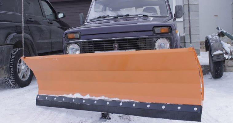 Трактор для уборки снега в истре